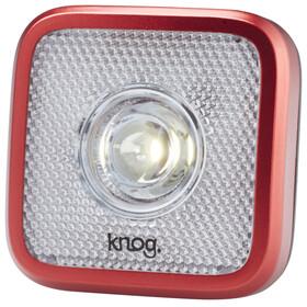 Knog Blinder MOB Eyeballer - Luz a pilas dilanteras - 1 LED blanco, estándar rojo